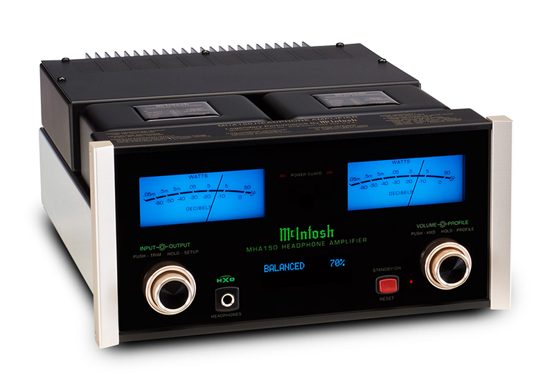 TEST McIntosh MHA150 Headphone amp (ex-demo) TEST